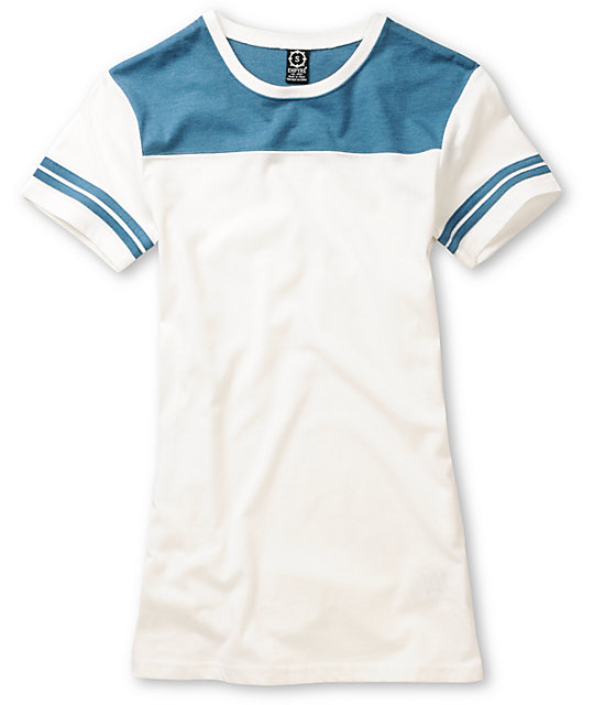 Empyre Teal Blitz Football T-Shirt