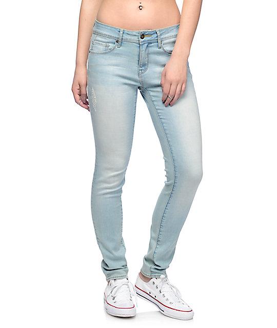 white skinny jeans for girls - Jean Yu Beauty