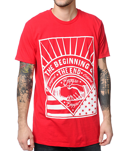 Empyre The Beginning Red T-Shirt