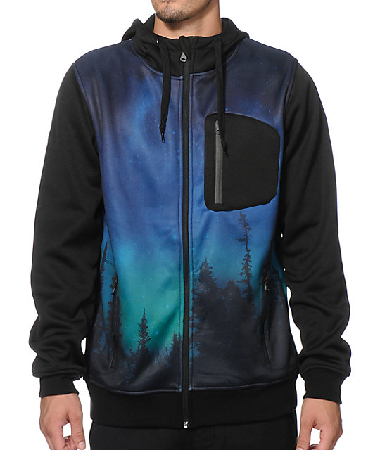 Empyre The Riot Northern Lights Tech Fleece Jacket