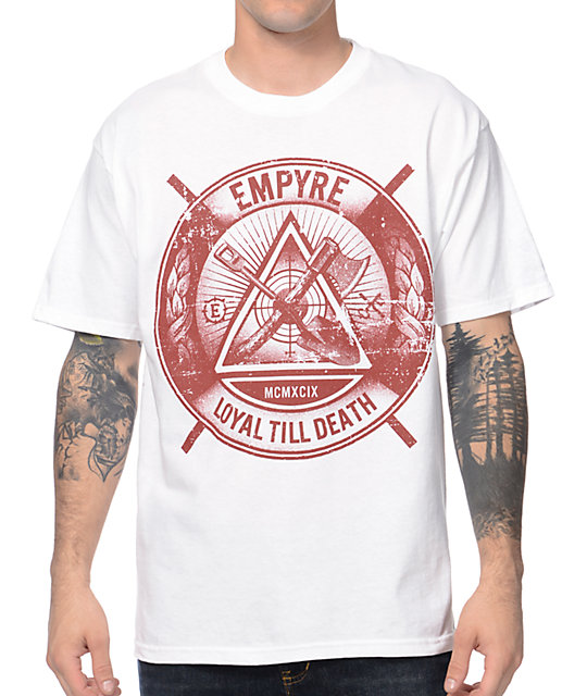 Empyre Till Death White T-Shirt