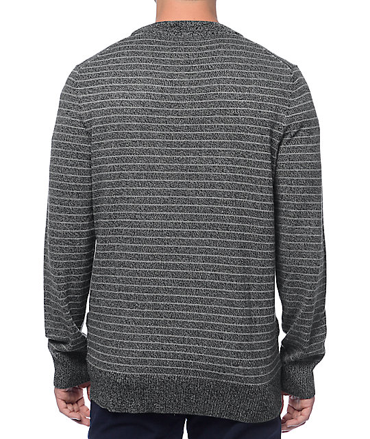 Empyre Time Square Grey Striped Cardigan