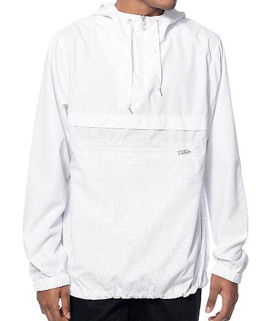 Empyre Transparent White Anorak Jacket at Zumiez : PDP