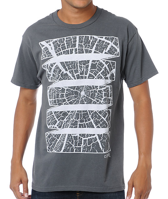 Empyre Tree Rings Grey T-Shirt