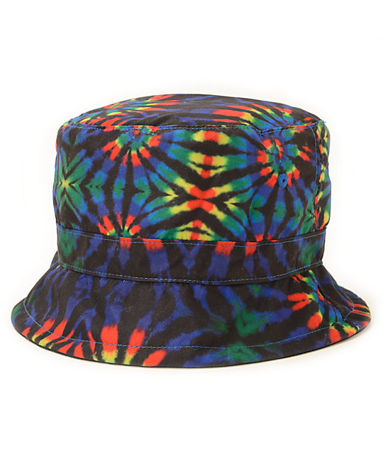 Empyre Tripped Tie Dye Reversible Bucket Hat