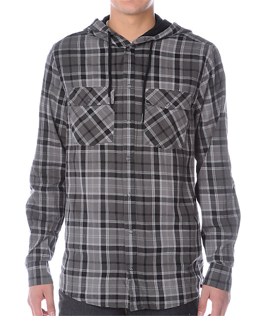 Empyre Vessel Grey Flannel Shirt