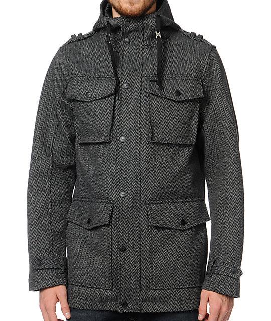 Empyre Winchester Herringbone Grey Jacket