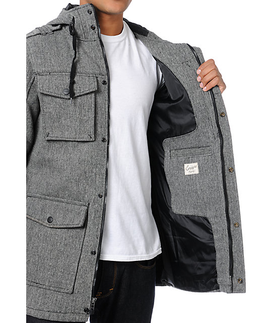 Empyre Winchester M-65 Charcoal Jacket