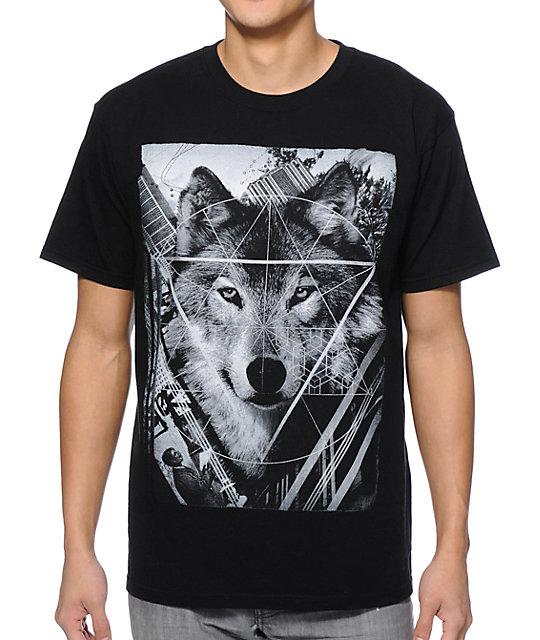 Empyre Wolf Man Black T-Shirt
