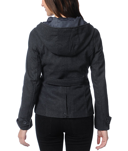 Empyre Zenith Charcoal Grey Toggle Peacoat