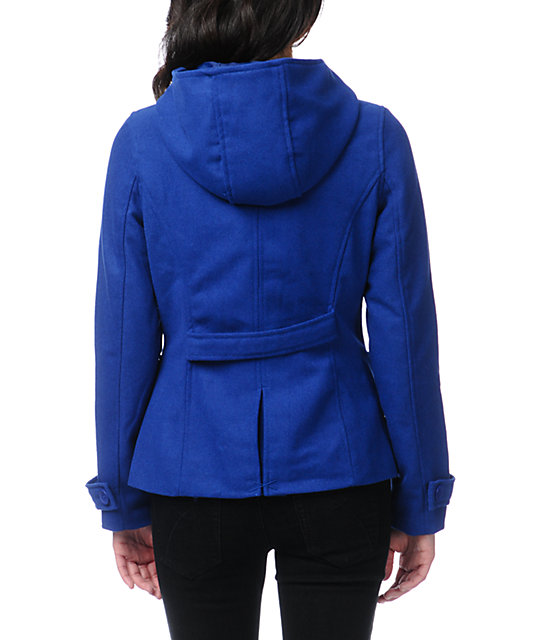 Empyre Zenith Princess Blue Toggle Peacoat