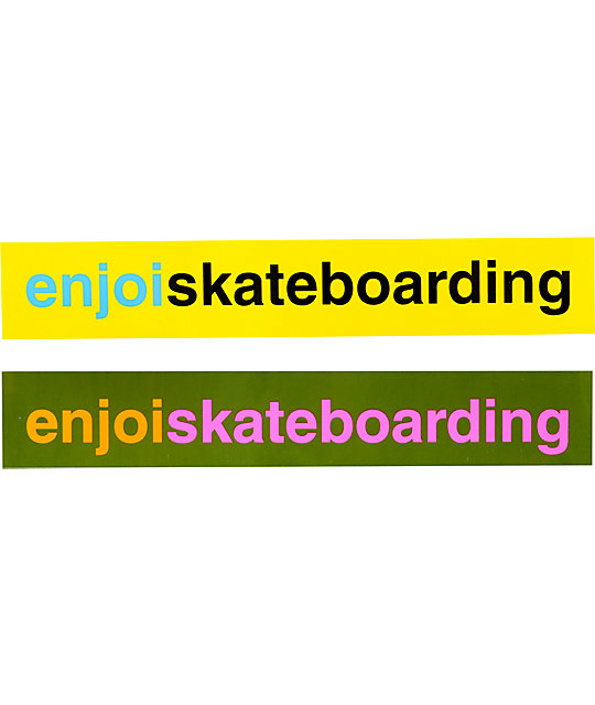 Enjoi 5 Sticker