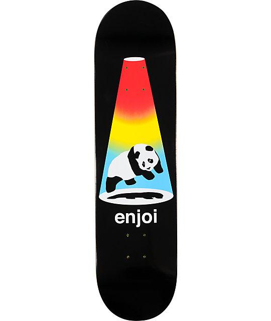 "Enjoi Abduction Black 8.0""  Skateboard Deck"