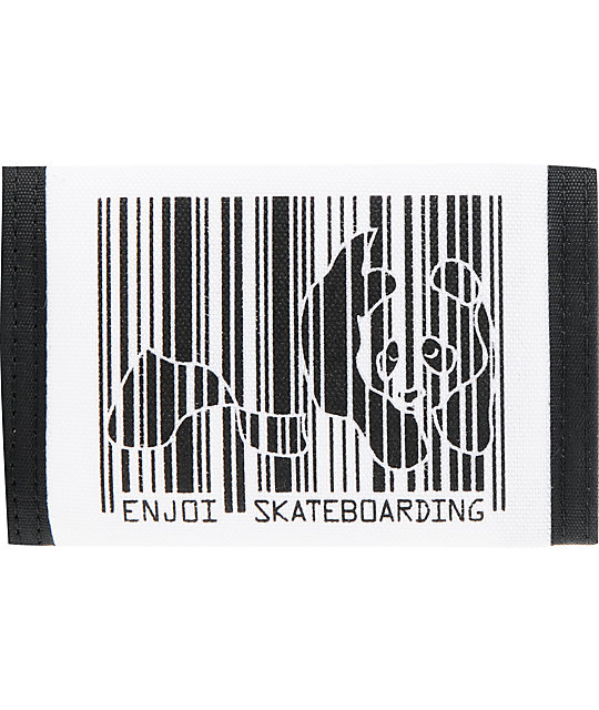 Enjoi Barcode Panda Bifold Wallet