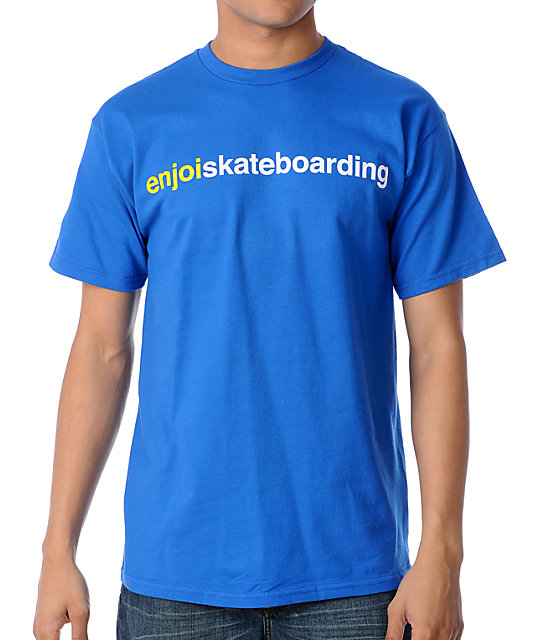 Enjoi Blue T-Shirt