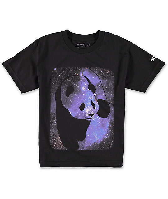 Enjoi Boys Cosmo Panda T-Shirt
