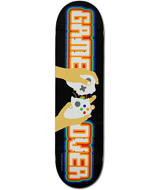 "Enjoi Caswell Berry Game Over 8.125""  Pro Model Skateboard Deck"