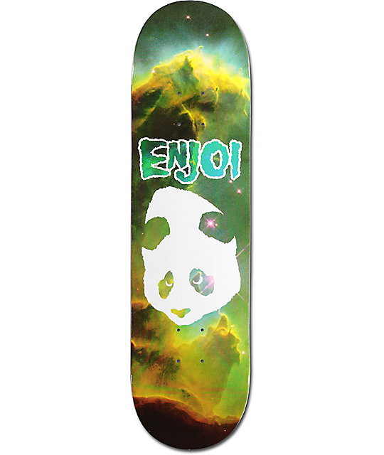 "Enjoi Doesn't Fit 8.25"" Cosmic Skateboard Deck"