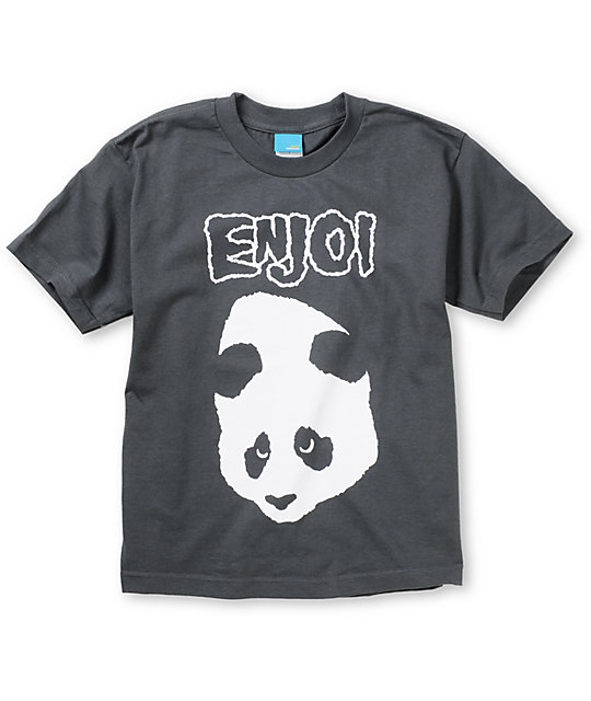 Enjoi Doesnt Fit Charcoal Boys T-Shirt