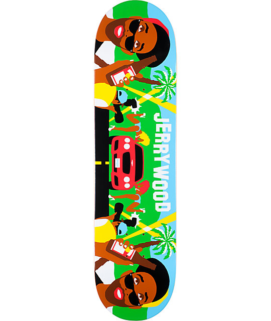 "Enjoi HSU Jerrywood 8.0""  Skateboard Deck"