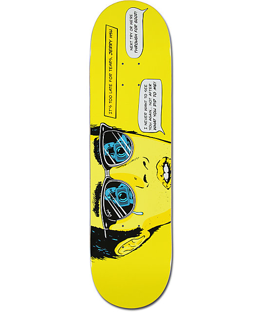 "Enjoi Hsu Next Try 8.25""  Skateboard Deck"