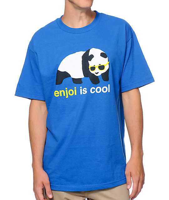 Enjoi Is Cool Royal Blue T-Shirt