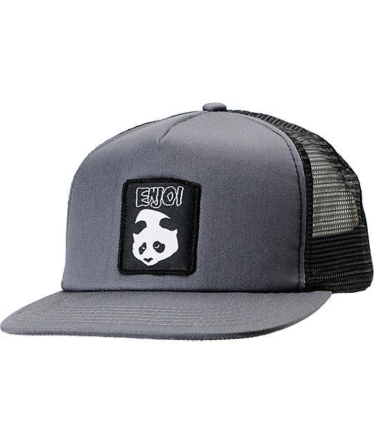 Enjoi It Fits Charcoal Trucker Hat