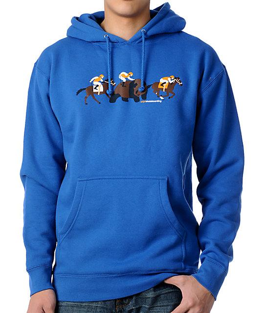 Enjoi Long Shot Blue Pullover Hoodie