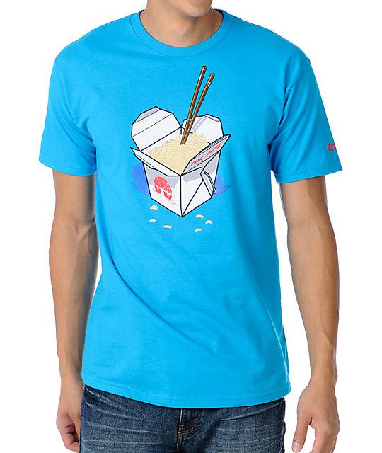 Enjoi Maggots Turquoise T-Shirt