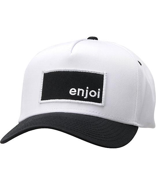 Enjoi Munching Box White & Black Hat