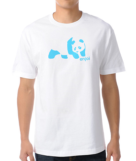 Enjoi Original Panda White T-Shirt