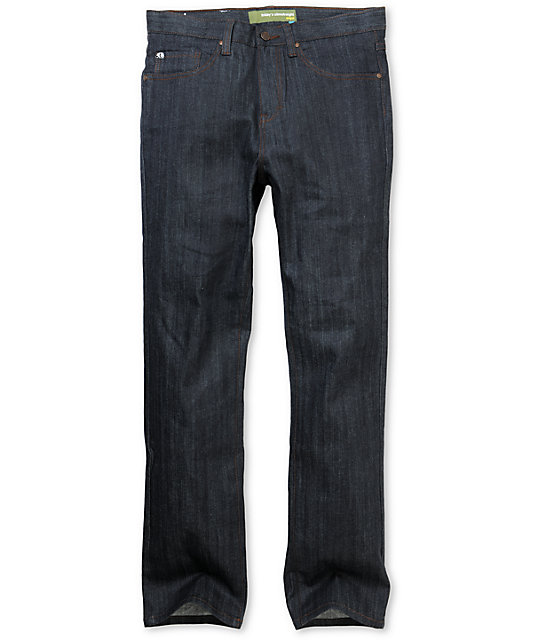 Enjoi Panda 2 Raw Indigo Slim Jeans
