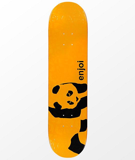 "Enjoi Panda Embossed 7.75"" Skateboard Deck"