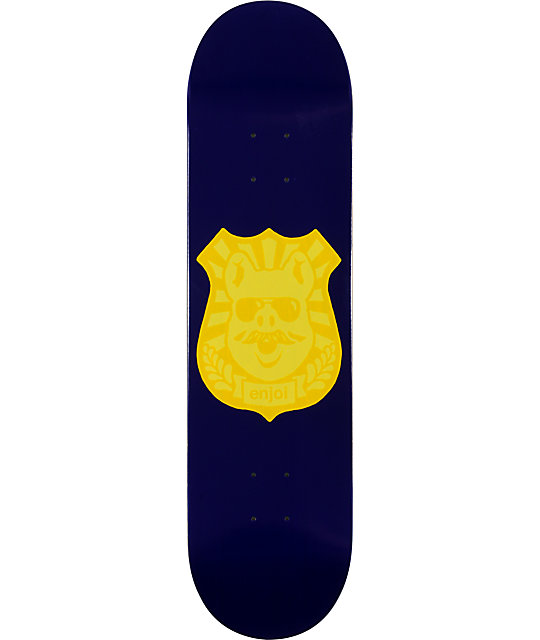 """Enjoi Pig Badge 8.1""""  Skateboard Deck"""