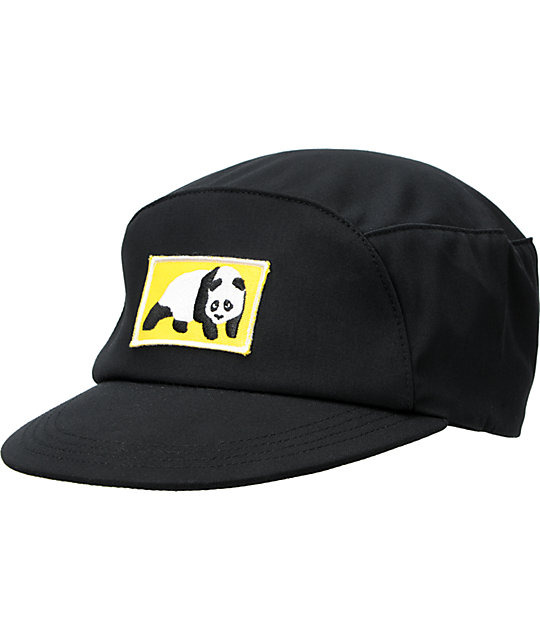 Enjoi S. Black Snapback Hat