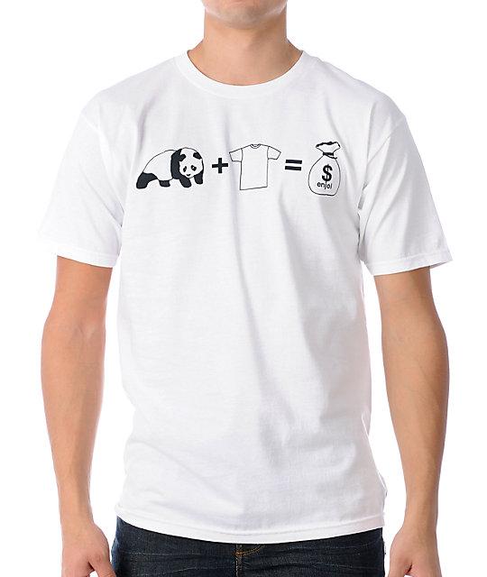 Enjoi Secret Formula White T-Shirt