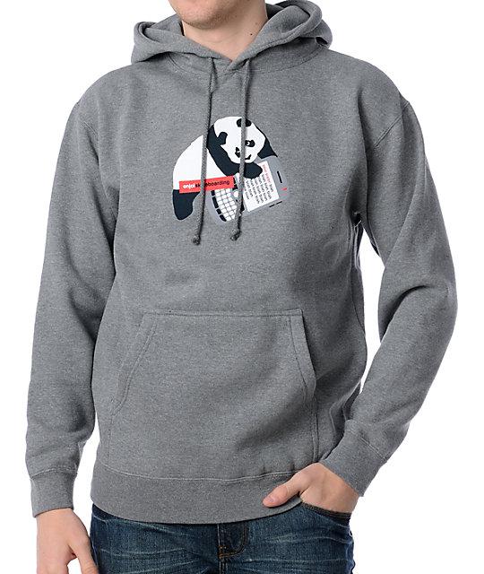 Enjoi Sexting Grey Pullover Hoodie