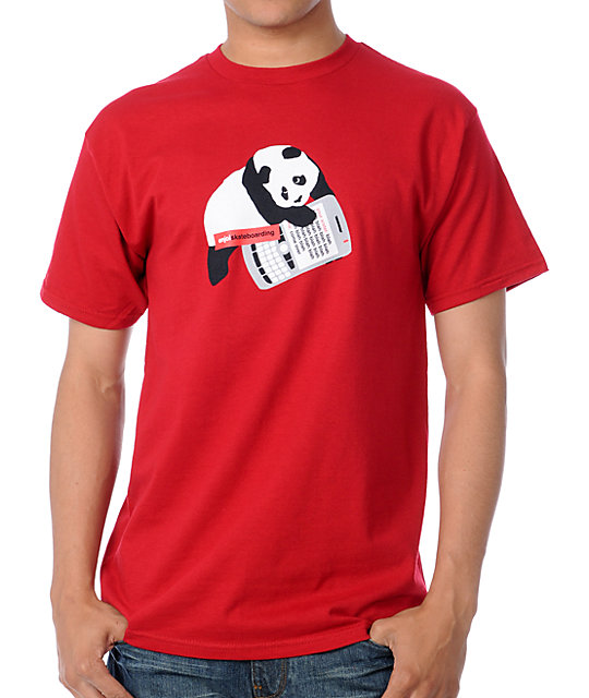 Enjoi Sexting Red T-Shirt
