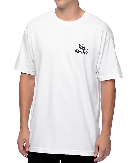 Enjoi Small Humping White T-Shirt