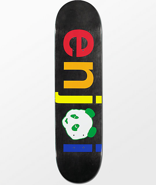 "Enjoi Spectrum No Brainer 8.0""  Skateboard Deck"