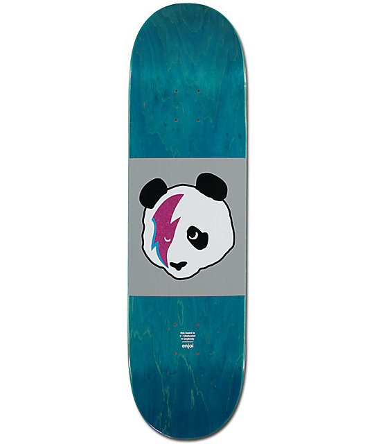 "Enjoi Stardust Panda 8.0""  Skateboard Deck"