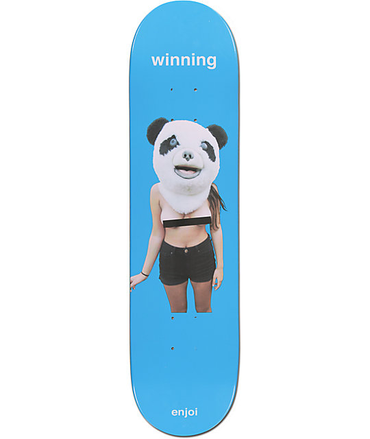 "Enjoi Winning 7.75""  Skateboard Deck"