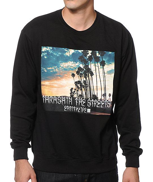 Entity Life Thrashin Crew Neck Sweatshirt