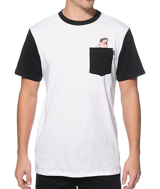 Eswic Betty Calendar Girl Pocket T-Shirt