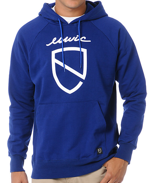 Eswic Icon Blue Pullover Hoodie