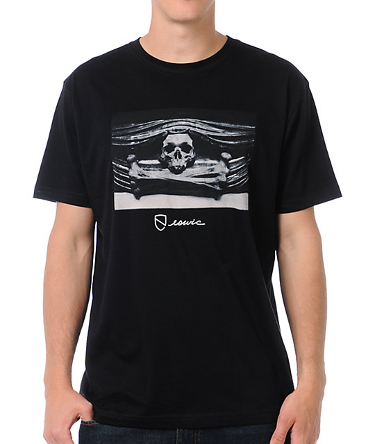 Eswic Skull Black T-Shirt