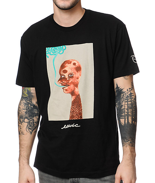 Eswic Two Face Black T-Shirt