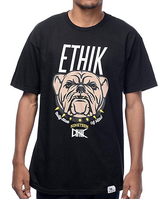 Ethik Bullies Black T-Shirt