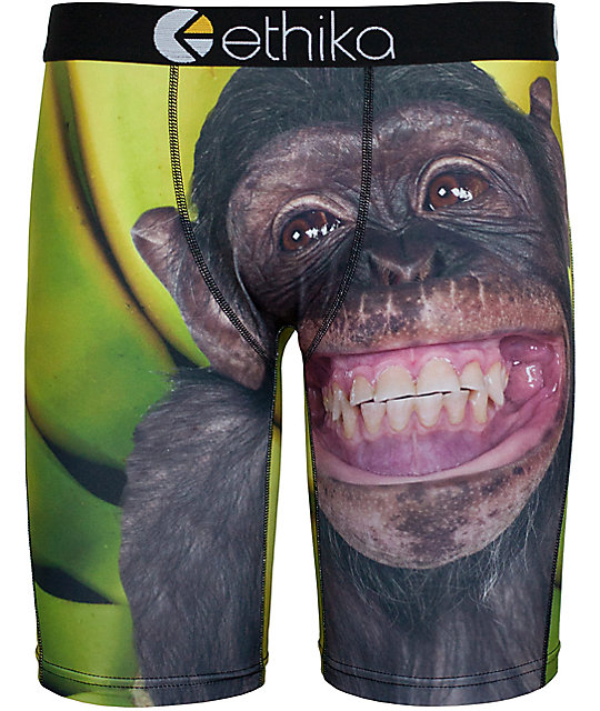 Ethika Monkey Business Boys Boxer Briefs