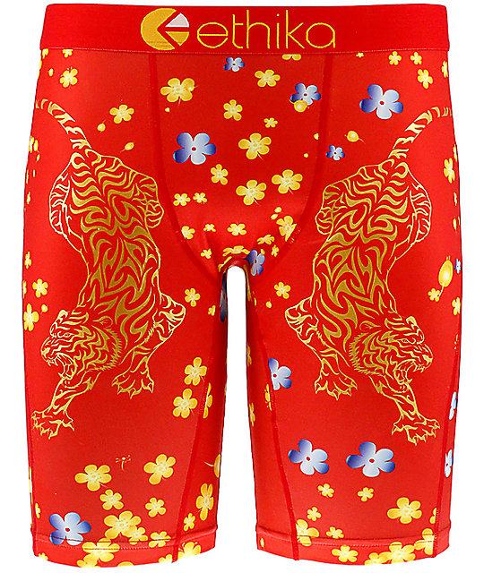 Ethika Muay Ti Red Boxer Briefs